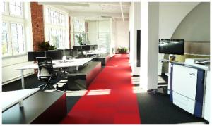 e-dox Büro. Wir freuen uns auf Ihren Besuch.